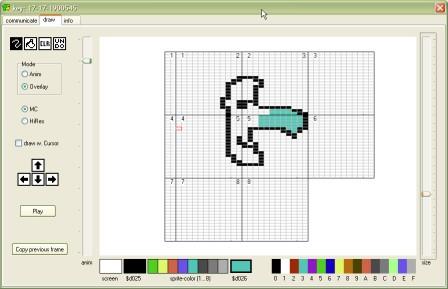 C64 Sprite creation